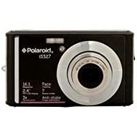 Polaroid Digital Still Camera 16.1MP with 2-Inch LCD - Black (IS326-BLK-SOL)