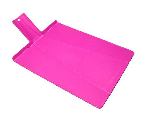 (Joseph Joseph Chop 2 Pot Plus Folding Chopping Board, Pink)