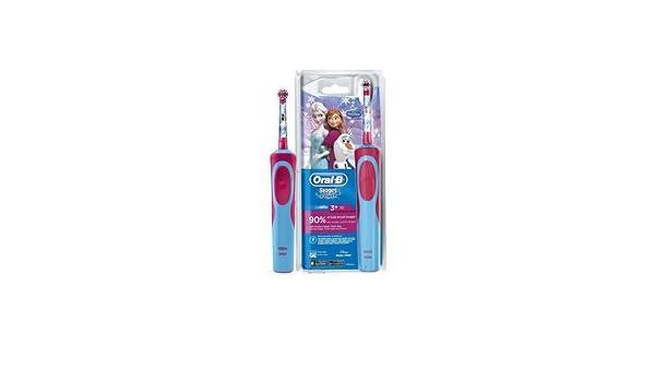 Oral-B Disney Frozen cepillo de dientes electrico 0 W, 0 Decibeles, Azul, Rosa: Amazon.es: Hogar