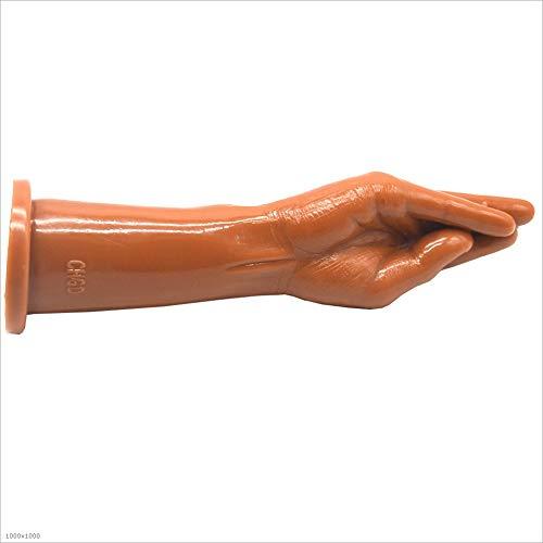 OPcFKV Large Size Silicone Anal Plug, Male Female Body Massage Stick Butt Plug, Stimulate Anal Button Plug Sex Game Personal Massager