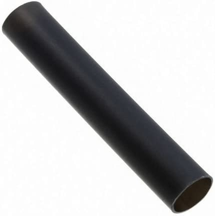 5 METRES DE GAINE THERMO-RETRACTABLE 7 mm couleur noire