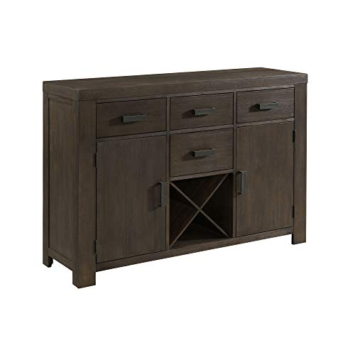 (Abbey Avenue D-PAU-SVW Paulson Server, Dark Walnut)