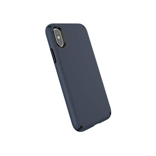 Speck Products Presidio Pro iPhone Xs/iPhone X Case, Eclipse Blue/Carbon Black