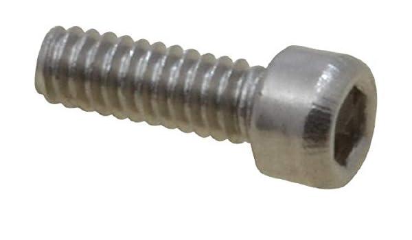 """0-80 UNF Socket Head cap Screw x 3//8/"""" Long Quantity 10"""