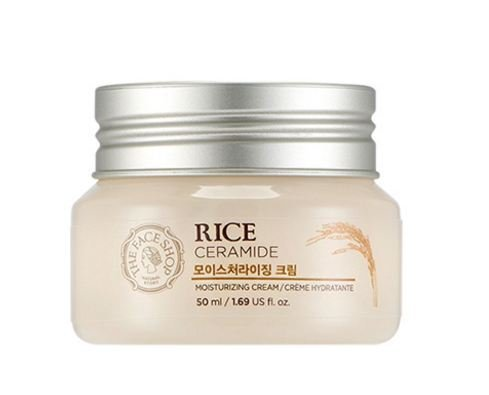 Rice & Ceramide Moisture Cream the Face Shop 50ml All Skin Types