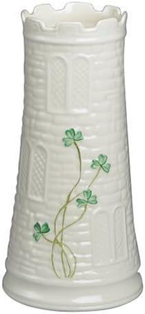 Belleek Castle Vase