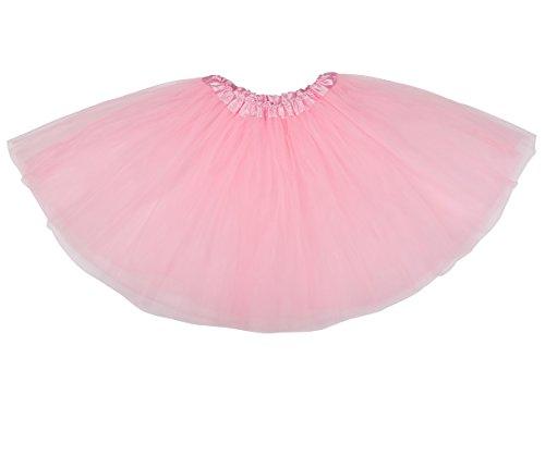 belababy Pink Women's Tutu 3 Layers Photo Shooting Skirt