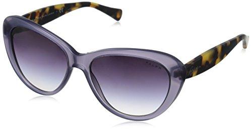 Ralph - Lunette de soleil RA 5189 Œil de chat - Femme Plum/satin spotty tortoise/Purplegradient