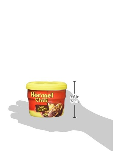 Hormel Micro Bowl Chili No Beans, 15-Ounce Units (Pack of 8)