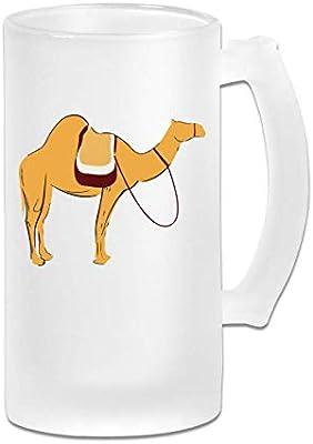 Tazas de cerveza Camel con asa, 16 oz/500 ml de vaso grande de ...