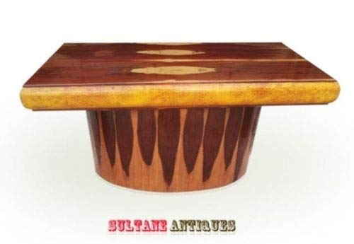 Rosewood Desk Deco Art - purest Form Art Deco Style Rare Rosewood Desk