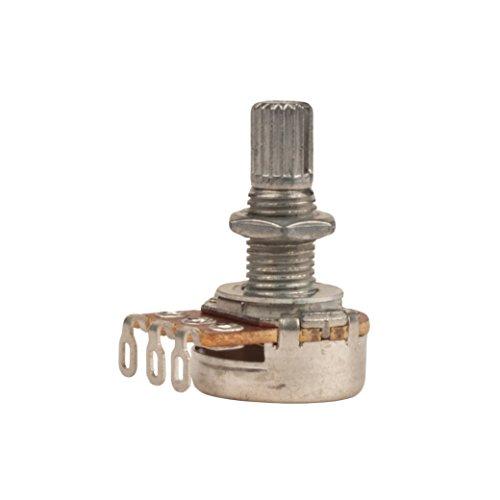 - Seismic Audio Replacement Logarithmic Taper Volume Pot 500K-Ohm-Coarse Knurled Split Shaft (SAGA49)