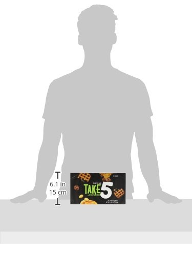 TAKE5 Chocolate Candy Bar with Peanuts (Pack of 18) by Take 5 (Image #8)