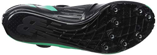 New Balance Men's Sigma V2 Vazee Track Shoe neon Emerald/Black 7 D US by New Balance (Image #3)