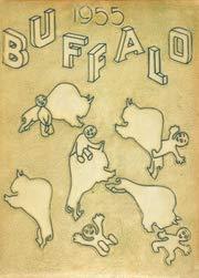 (Custom Reprint) Yearbook: 1955 Charles H Milby High School - Buffalo Yearbook (Houston, TX) (Charles H Milby High School Houston Tx)