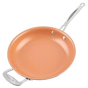 Sartén de Aluminio, Cobre Sartenes Master Copper ...