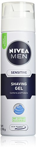 NIVEA FOR MEN Sensitive, Shaving Gel 7 oz