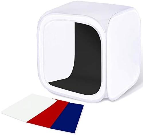 Ardinbir Photo Studio 31 /& 12 80cm /& 30cm White Photo Light Table Top Soft Box Tent with 300w Lighting Kit and Tripod