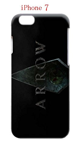 Laurel Lance Arrow Costume (iPhone 7 Case, The TV Series Arrow 03 Drop Protection Never Fade Anti Slip Scratchproof 3D Hard Plastic Case)