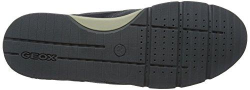 Herren ABX B Grau Sneaker U Sandford Geox A Anthracite fIzqd4