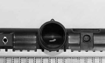 TYC 2438 Compatible with MITSUBISHI//Dodge 1-Row Plastic Aluminum Replacement Radiator