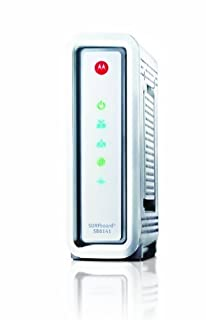 Consumer Electronic Products ARRIS / Motorola SurfBoard SB6141 DOCSIS 3.0 Cable Modem - Retail Packaging - White Supply Store (B00ENF7O1G) | Amazon price tracker / tracking, Amazon price history charts, Amazon price watches, Amazon price drop alerts