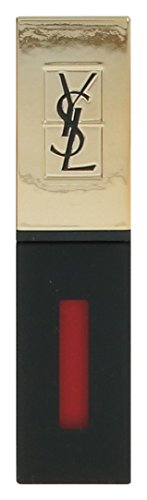 Yves Saint Laurent Rouge Pur Couture Vernis a Levres Glossy Stain Rouge Laque for Women, 0.2 Ounce (Ysl Rouge Pur Couture Glossy Stain 9)