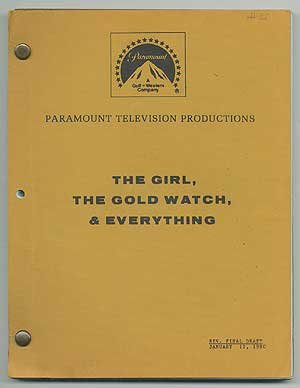 [Screenplay]: The Girl, The Gold Watch and Everything