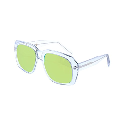 Ultra Goliath 2 Sunglasses Crystal Gold Polarized Lens Vintage Casino Robert De - Sunglasses Movie Casino