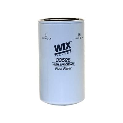 WIX Filters - 33528 Heavy Duty Spin-On Fuel Filter, Pack of 1: Automotive