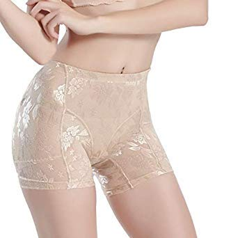 245a485dc8 Buy Silicone Padded Panties Women Shapewear Bum Butt Hip Lift Enhancing  Knickers Safety Panty Color Beige Size XXXL Online at Low Prices in India -  Amazon. ...