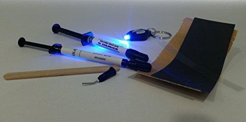 (Ceramic & Porcelain Repair Diy Kit - Light Cure - Kohler White)