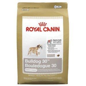 (Royal Canin Bulldog Puppy 30 Dry Dog Food, 6-lb bag)