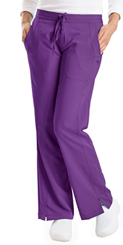 healing hands Purple Label Women's Taylor 9095 2 Pocket Drawstring Scrub Pant Scrubs- Grape- ()