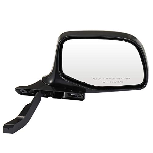 ECCPP Passenger Side Mirrors, Right Side Rear View Mirrors Manual Folding Black Door Mirror Replacement fit for 1992 1993 1994 1995 1996 Ford F-350 F-250 F-150 Bronco F Super ()