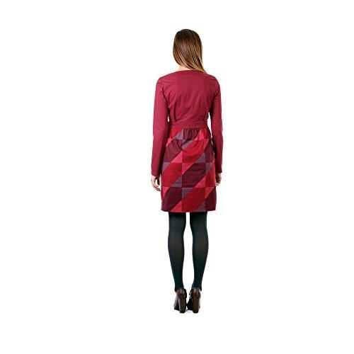 Zergatik Vestido Mujer FAN Box red