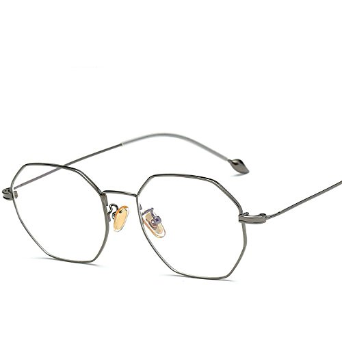 Aoligei Pied de Perles métal wire lunettes cadre art spectacle cadre cadre tendance cent-tour ordinateur C