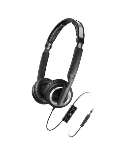 Sennheiser PX 200-II i Lightweight Supra-Aural Headphones with 3 Button Control for iPod, iPhone, and iPad by Sennheiser