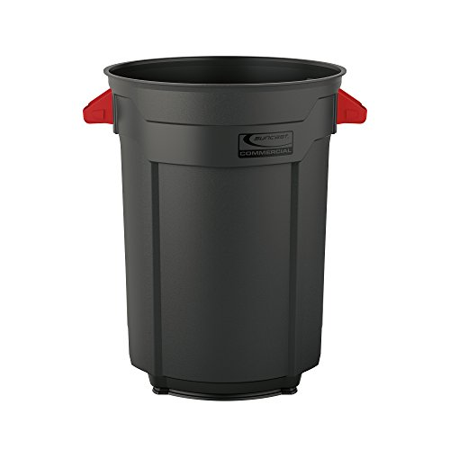 Suncast Commercial Utility Trash Can, 55 Gallon ()