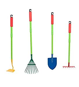 Grow with me garden tool set toys games for Gardening tools on amazon