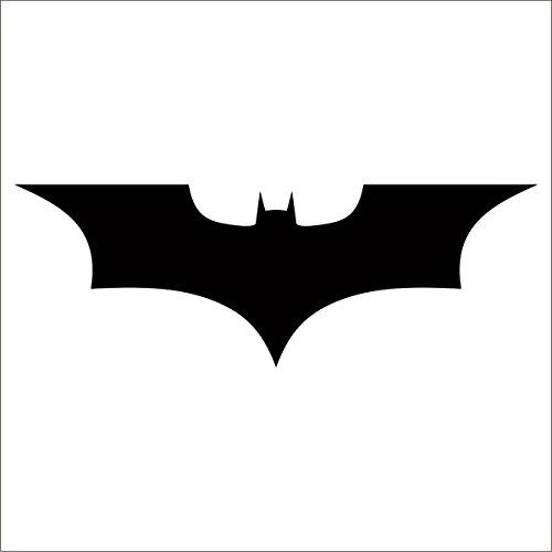 (Batman Dark Knight Decal / Sticker - Black 4