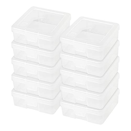 IRIS Small Modular Supply Case, 10 Pack, Clear from IRIS USA, Inc.