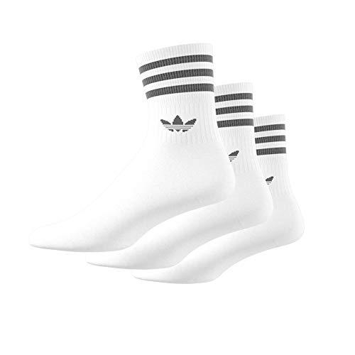 Mid Calzini Cut misti 3 nero adidas paia Bianco rrzw5q