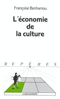 L'économie de la culture par Benhamou