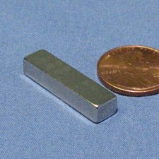 10pcs. - 1 X 1/8 X 1/4 In. Rectangle N42 Super Strong Neodymium Magnets