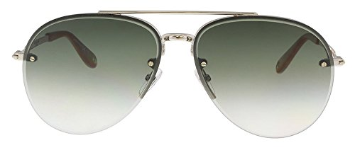 ‑ 3YG Light Gold / Green Shaded Sunglasses ()