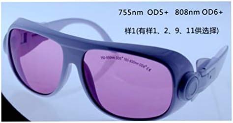 755nmおよび808nm特殊レーザー保護ガラスEP-18 (EP-18-1)