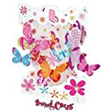 Santoro Interactive 3-D Swing Card,  Butterflies Greeting Card, Health Care Stuffs