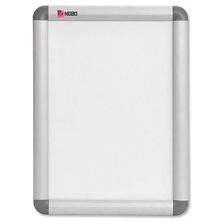 Nobo - Stand d'Affichage Clipsable, Cadre Aluminium, Affiche (700x1000x17 mm) 1902209