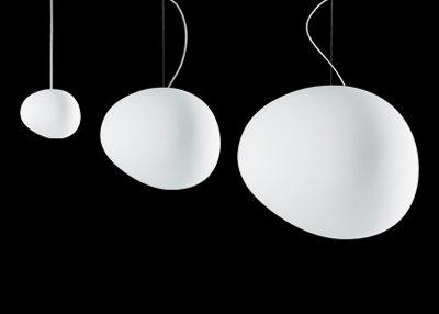 (Foscarini Ludovica + Roberto Palomba, 2007 Lampada, Blown Glass and Painted Metal, White, One Size)